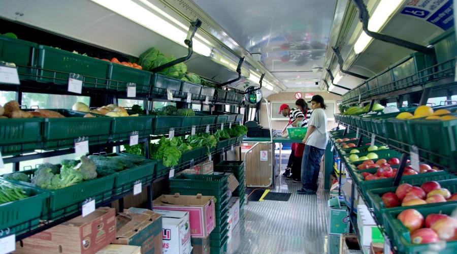 Mobile food market