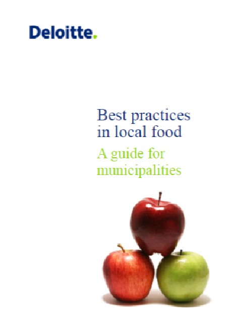 cover of AMO food practices guide.emf